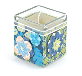 Vanilla Floral Candle